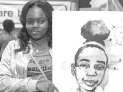 Black Girl Imaginary photo