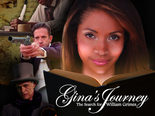 The cover of the Gina's Journey film