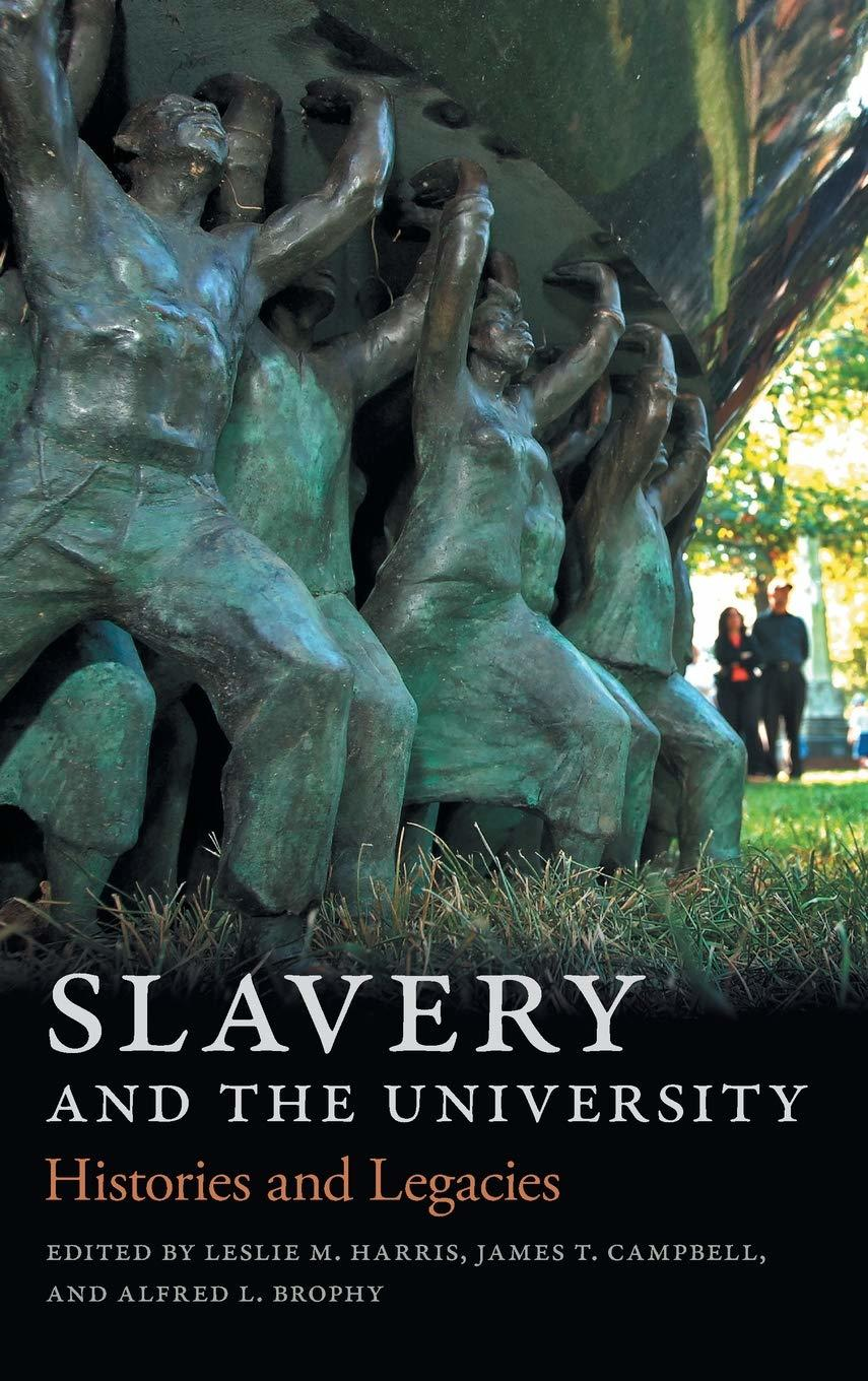 Slavery and the University cover
